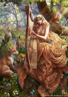 Celestial Spirit by Irulana