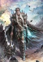 God of War Card by Irulana