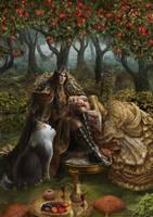 The Secret Garden by Irulana