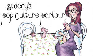 Stacey's Pop Culture Parlour Logo by BevisMusson