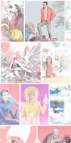 One Piece Challenge Compilation by shabby-girl