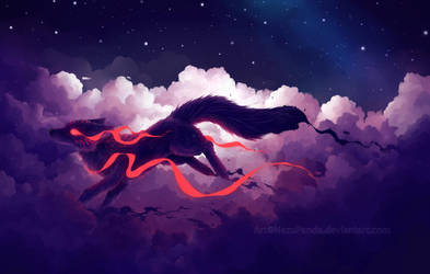 The Cloud Jumper by NezuPanda