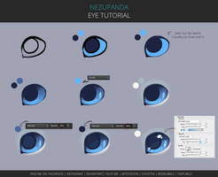 Eye tutorial by NezuPanda