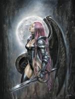 Knight-of-the-moon by sebastien-grenier