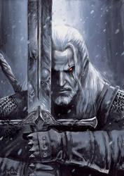 Witcher by sebastien-grenier