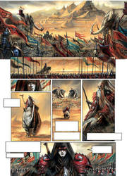 La Cathedrale des Abymes Issue 3 preview by sebastien-grenier