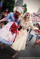 Zombie Girls by kolibri-chan