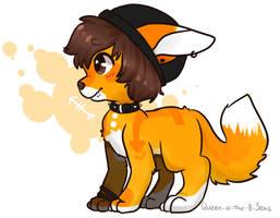 What a Cute Pup by Yume8bit