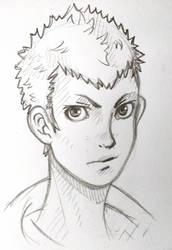 Ryuji sketch by RazorCheeks