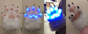 LED Handpaws by SuicidalMuffins