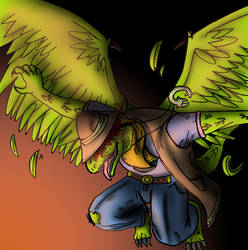 Quetzal Color Request by DigiDayDreamer