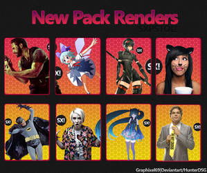 New Render Pack by HunterDsg