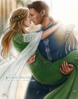 A Royal Wedding by SarahMillerCreations