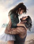 Gladio and Isla by SarahMillerCreations