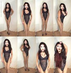 Collage female Masking 24.03.2012_02 by JessicaTrance