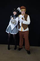 Homura and Male Mami by MFM-Photography