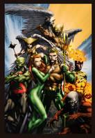 Aquaman by SiriusSteve
