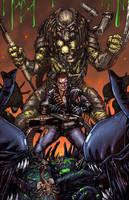 Aliens vs Terminator vs Predator by SiriusSteve