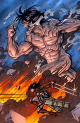 Attack on Titan by SiriusSteve