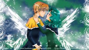 Christmas Haruka and Michiru - true Love by SilverSerenity1983