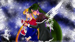 Setsuna and Usagi Christmas by SilverSerenity1983