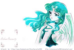 Michiru / Sailor Neptun Angel by SilverSerenity1983