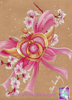 Sailor Moon Brosche/ Brooch by SilverSerenity1983