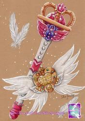 Sailor Moon - Etarnel Staff by SilverSerenity1983