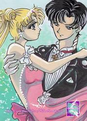Usagi and Mamoru in crystal styl by SilverSerenity1983