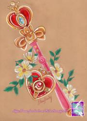 Sailor moon - heart moon rod by SilverSerenity1983