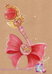 Moon Rod - Sailor Moon by SilverSerenity1983