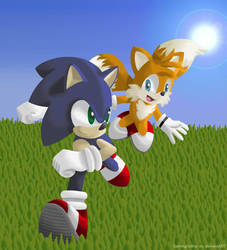 Sonic Tails - Best Buddies by GamingGolfer
