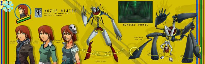 Persona 4 - Kozue Hijiro by PepperBug