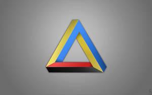 Ukraine triangle by BogdanYaremak