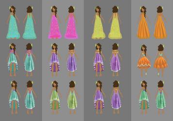 Dream Dress Designs by delespi