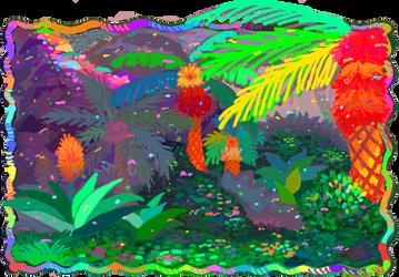 Neon Jungle by huggah