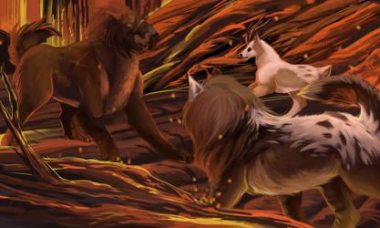 Tokotas - Miriel PotA - Through the Flames by Keartricity