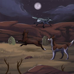 V-E - Frayed Wilds - Under the Moon by Keartricity
