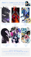 M4WiE's Commission Prices - OPEN by M4WiE