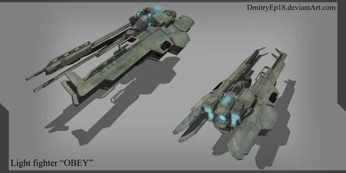 Light fighter OBEY by DmitryEp18