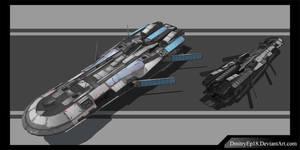 Cargo ship concept by DmitryEp18
