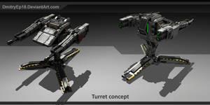 Turret concept by DmitryEp18