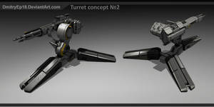 Turret concept #2 by DmitryEp18