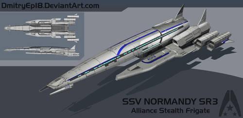 Normandy SR3 concept by DmitryEp18