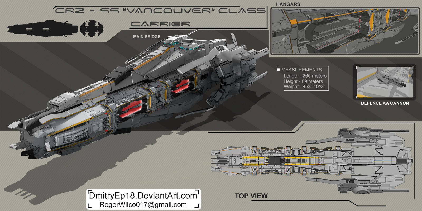 Carrier concept by DmitryEp18
