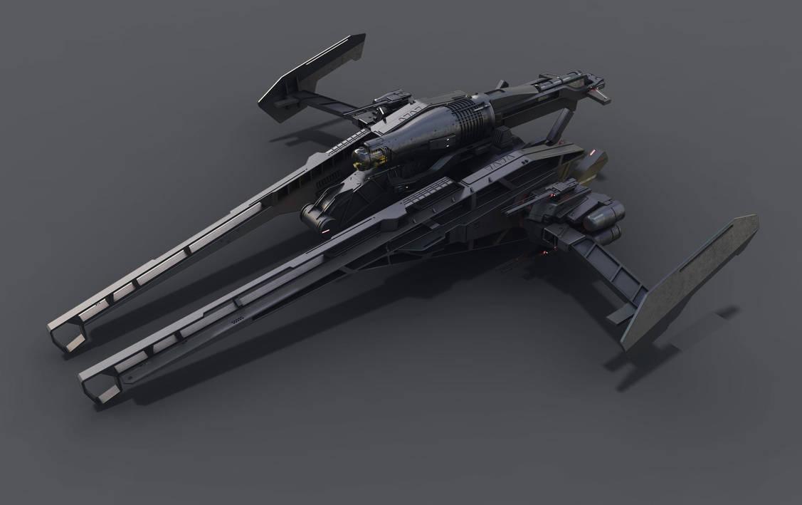 Heavy fighter by DmitryEp18