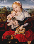Virgin and Child with Doorknob by ArtOfTheMystic