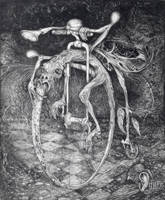 Ouroboros Perpetual Motion by ArtOfTheMystic