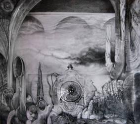 PORTAL TO BOGOMIL'S UNIVERSE IV by ArtOfTheMystic