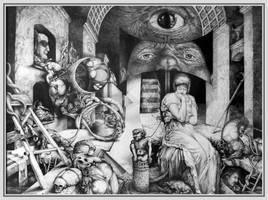 Vindobona Altarpiece III by ArtOfTheMystic